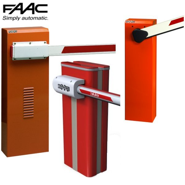 FAAC Hydraulic Automatic Barriers<br>(Beams 2 to 8 Metres)