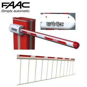 FAAC B650H Barrier Beams, Brackets & Skirts