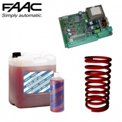 FAAC 620 Barrier Hydraulic Fluid, Control Board & Springs