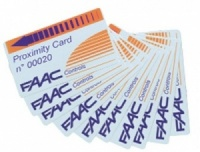 FAAC Proximity Numbered Cards